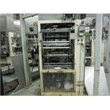 General Packaging Equipment vertical 2-up former/fill/seal/bagger, 15 in. jaw. No filler. Rigging Fe