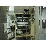 General Packaging Equipment vertical 2-up former/fill/seal/bagger, 15 in. jaw. w/ SpeeDee 2-up volum