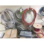 Misc. conduit, hose, and electrical disconnects. Rigging Fee: $150