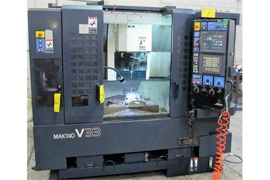 2001 MAKINO V33 HIGH SPEED CNC VERTICAL MACHINING CENTER