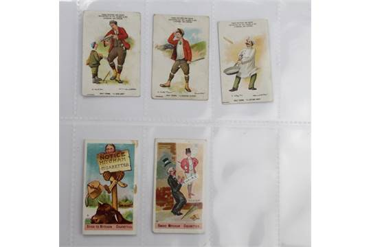 Odds - Clarkes 1900 Golf Terms x3, and Rutter 1905 Comic