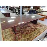 "DMI 10' Glass Top Conference Table, 29"" H x 48"" Wide"