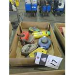 Tapes and Chalk Lines (SOLD AS-IS - NO WARRANTY)