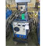 Miller CP-200 CP-DC Arc Welding Power Source s/n 71-572641 w/ Miller 10A Wire Feeder (SOLD AS-IS -