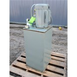 K.R. West Company hydraulic power unit with 40 gallon tank. 20 GPM, 250 psi. Serial # MS595901. 3/