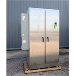 CMC America Corporation drive panel consisting of 250 HP ABB ACS800 Drive. 3/60/480v. Stainless