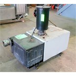 Oerlikon Leybold Sogevac SV630 single stage, oil-selaed rotary vane vacuum pump. Serial #