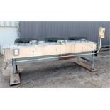 Liebert Corp. 3 fan refrigeration condenser unit, Model 0-0250. Serial # 21227-10.