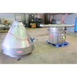 MAC Equipment stainless steel flour hopper/scale. No mfg. tag.