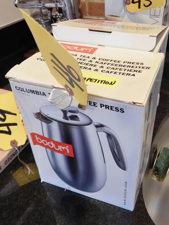 Bodum columbia coffee press id e inspirante for Carrelage douche italienne