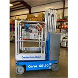 2013 GENIE RUNABOUT GR20, 26' WORKING HEIGHT, RUNS AND OPERATES