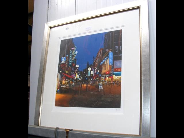 "Lot 30 - HENDERSON CISZ - Limited Edition coloured print ""Ni"