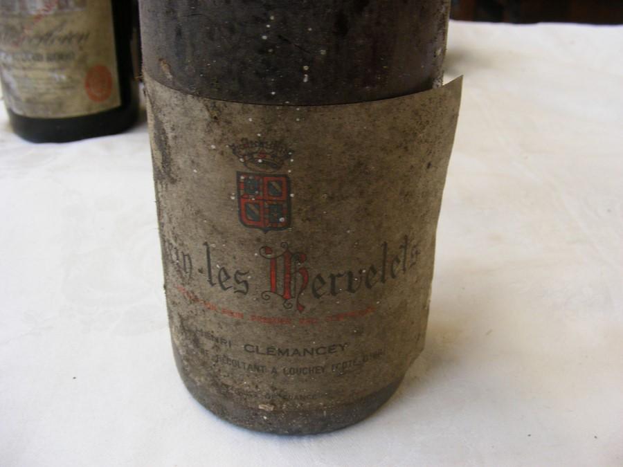 Lot 51 - Eleven bottles of vintage wine - 1958, 1960's, 70's