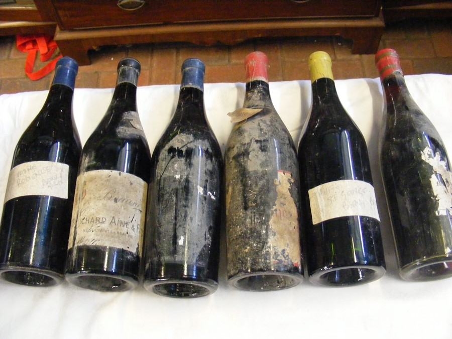 Lot 52 - Six bottles of vintage wine, including 1949 vintage