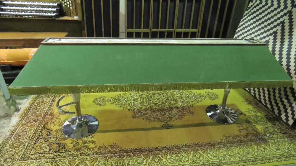 Lot 749 - A snooker, billiard or pool table oversh