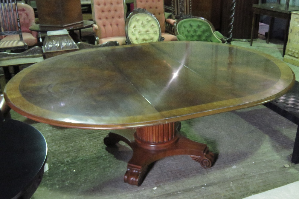 Lot 773 - A large and impressive polished walnut c