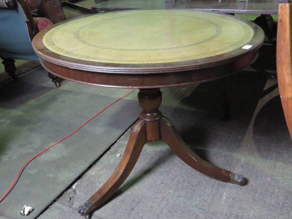 Lot 711 - A reproduction Regency style tilt top ci