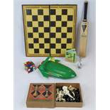 A Chad Valley plastic chess set in box,