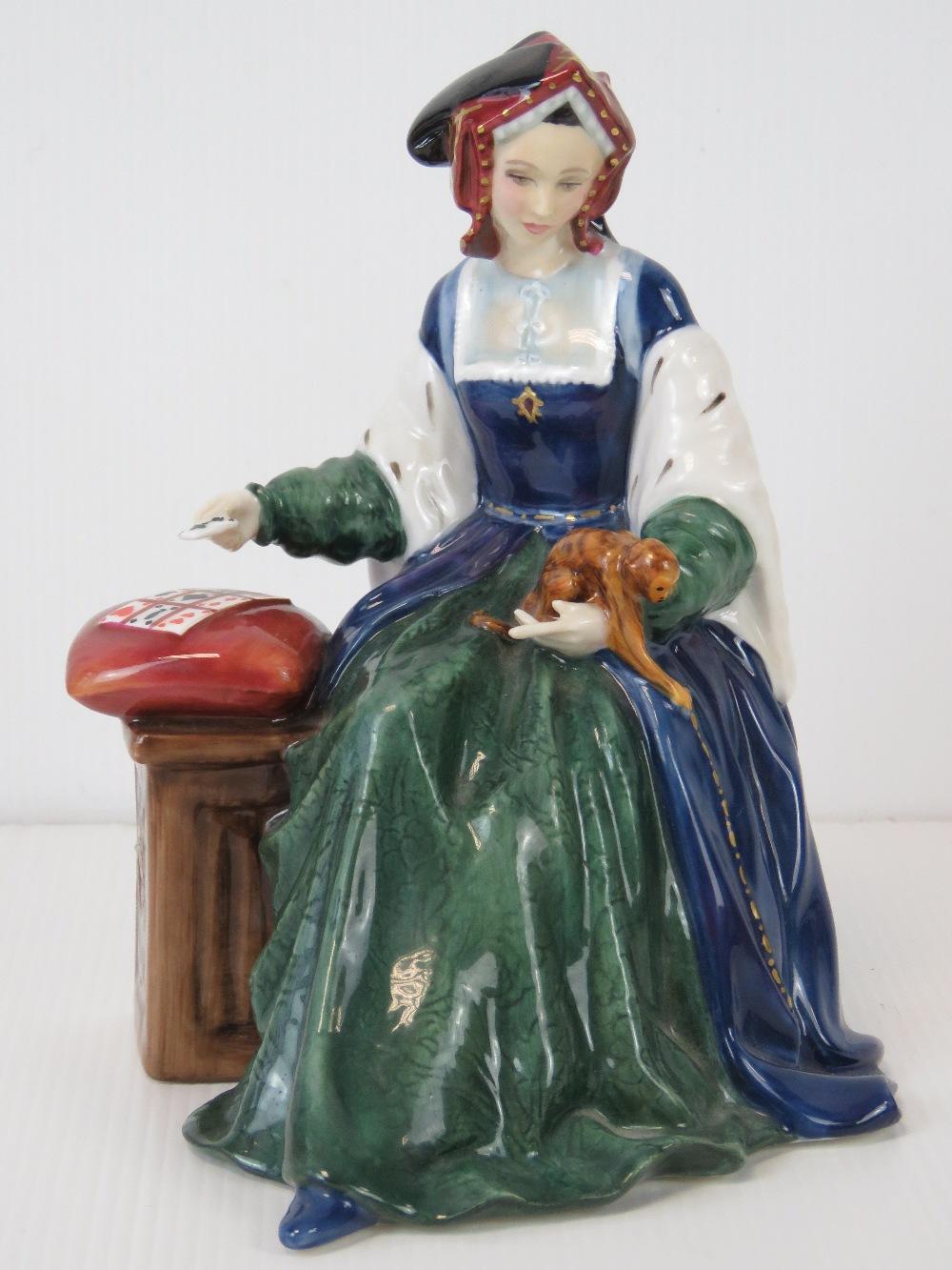 A limited edition Royal Doulton figure o