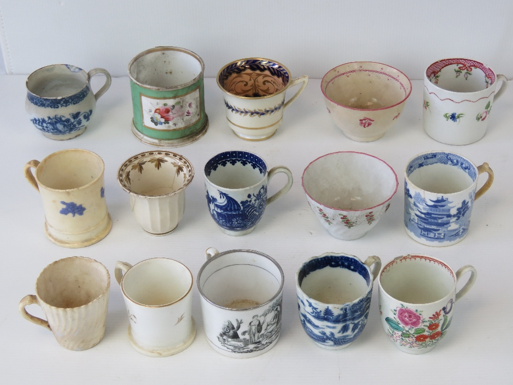 A small collection of 18thC and later En
