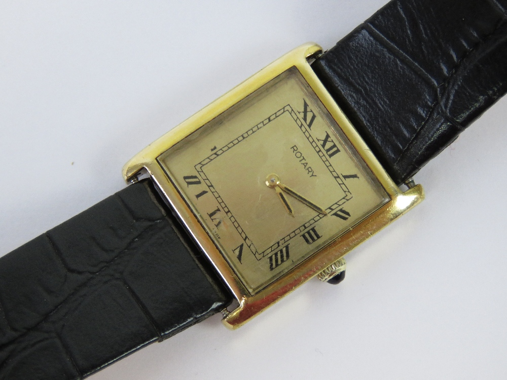 A Rotary tank mechanical action watch be