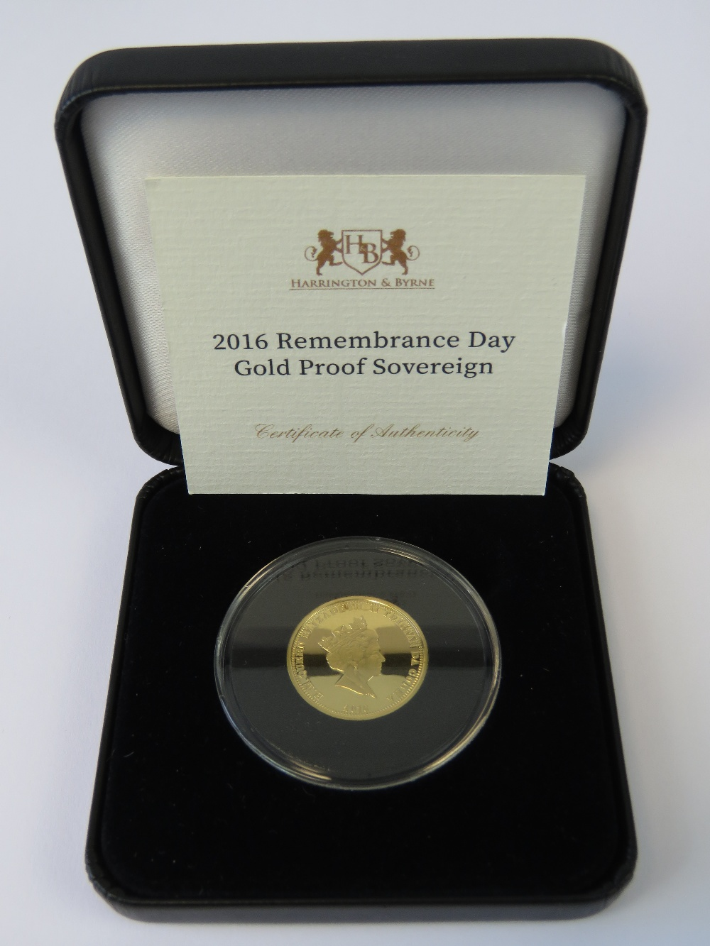 A mint and uncirculated 2016 'Remembranc