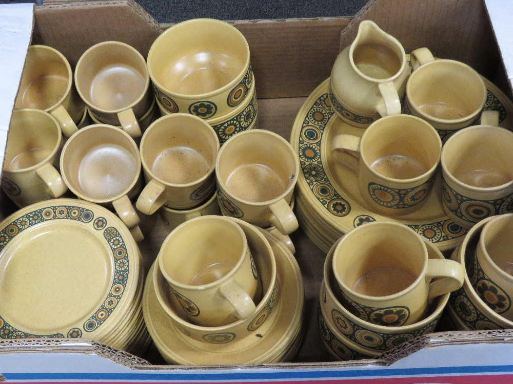 A large quantity of c1970s Kiln Craft Ir