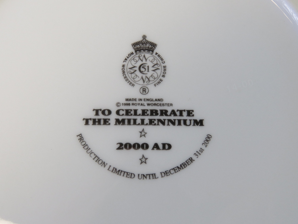 A Royal Worcester 2000AD commemorative m - Image 2 of 2
