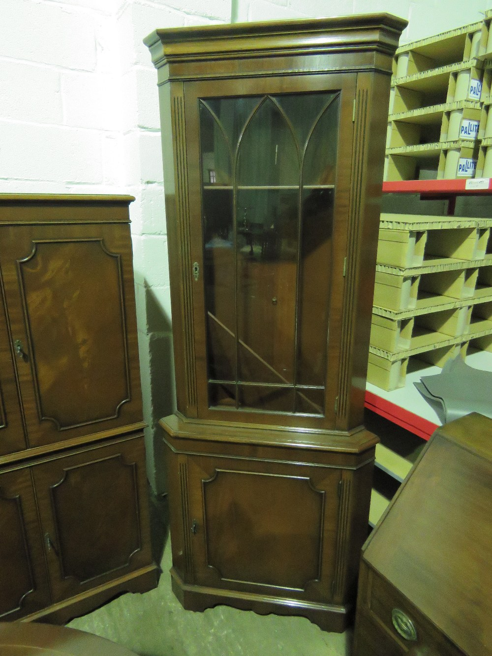 Lot 725 - A reproduction D ended Georgian style si