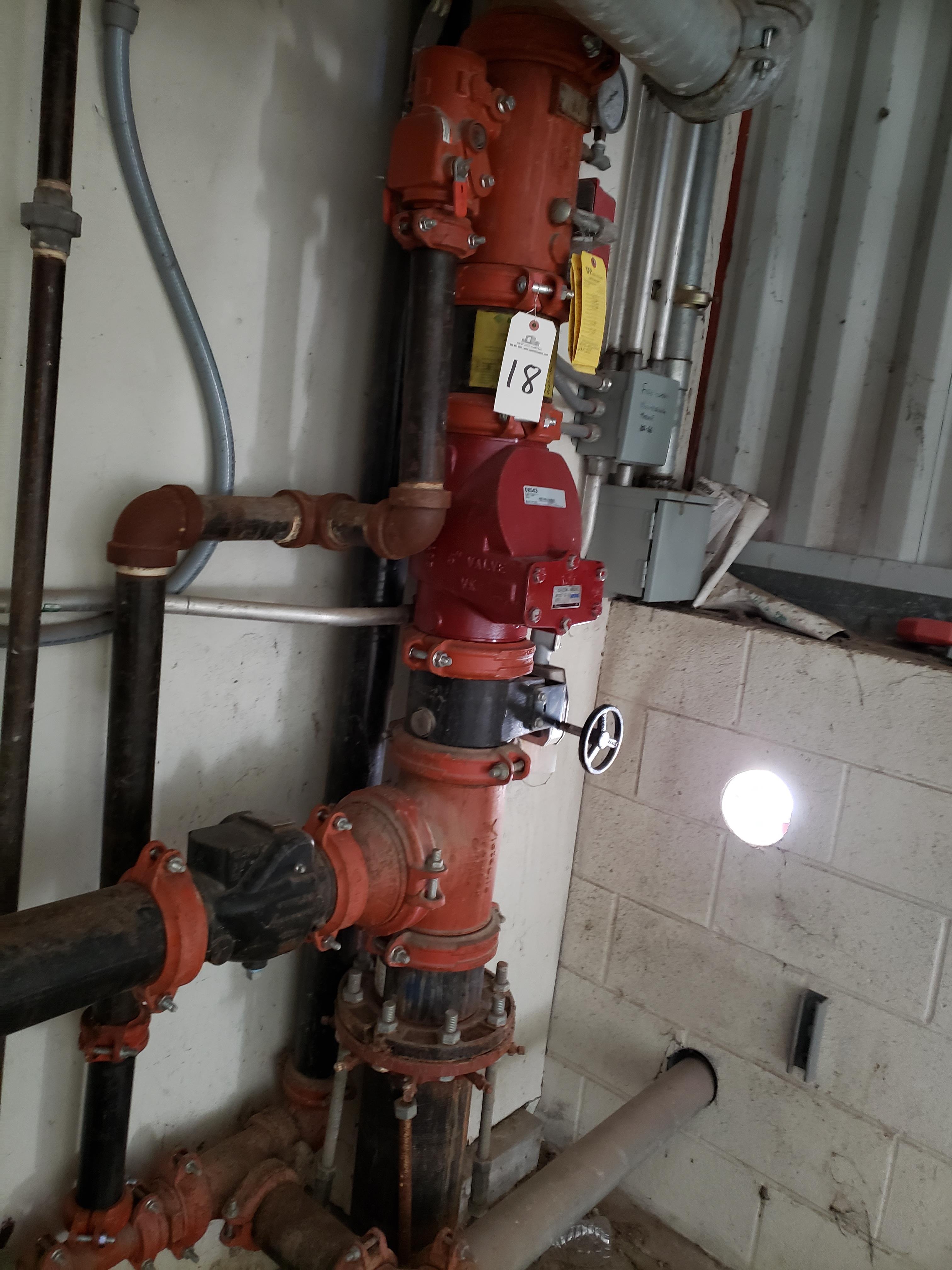 Lot 18 - Fire Sprinkler Valves,Gauges and Pipe | Rig Fee: $100