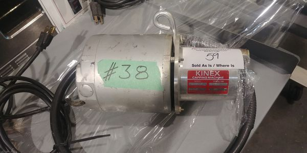 Lot 59 - Kinex Capping Machine