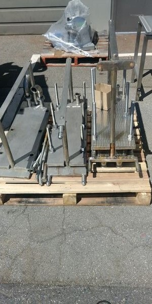 Lot 54 - 2 Skids of Stainless Steel Heat Exchangers