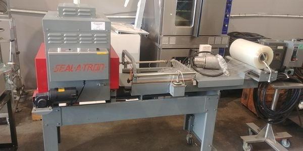 Lot 21 - Sealtron L-Bar Heat Seal System