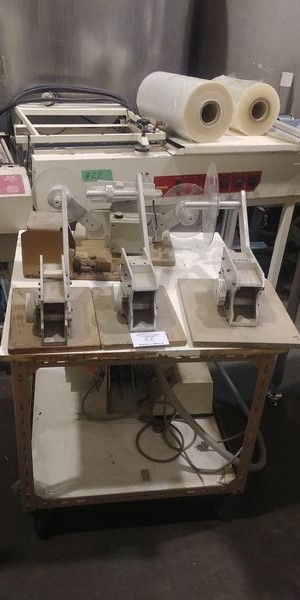 Lot 55 - Trolley of Misc. Labelling Equipment