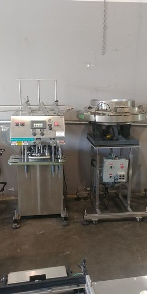 Lot 39 - Inline Filling Systems Bottle Capping Machines