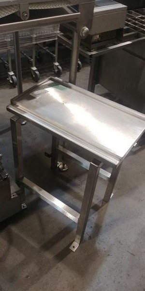 """Lot 14 - 2' x 16"""" Stainless Steel Slider Table"""