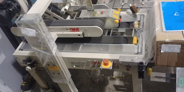 Lot 35 - 3M Random Case Sealer with Ink Jet Printer