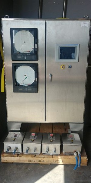 Lot 6 - Skid Lot of Allan Bradley Control Panel with 4 Additional Electric Switch Panels