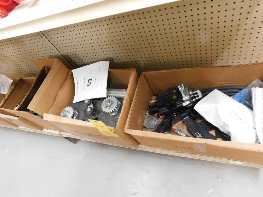 LOT: Hydraulic Control Valve Assembly, SI Belt Meter & Distributors