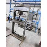 LOT: Dake H-Frame Hydraulic Press, with #3 Arbor Press