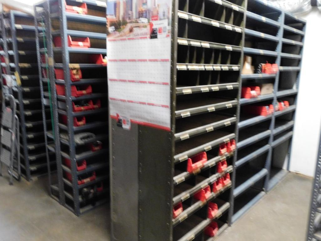 LOT: Contents of Parts Room including Large Quantity of Steel Shelving Units with Contents of Spark - Image 3 of 3
