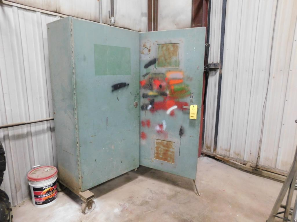 Rolling Flammable Liquid Storage Cabinet