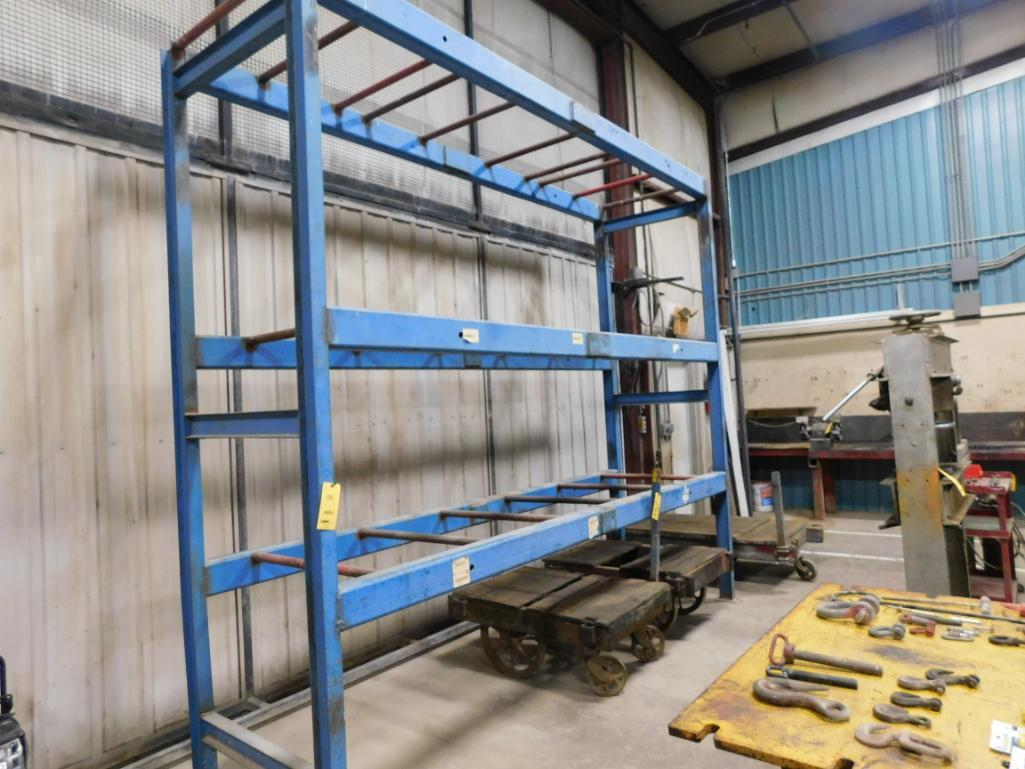 13 ft. Wide x 42 in. Deep x 11 ft. High Welded Steel Rack