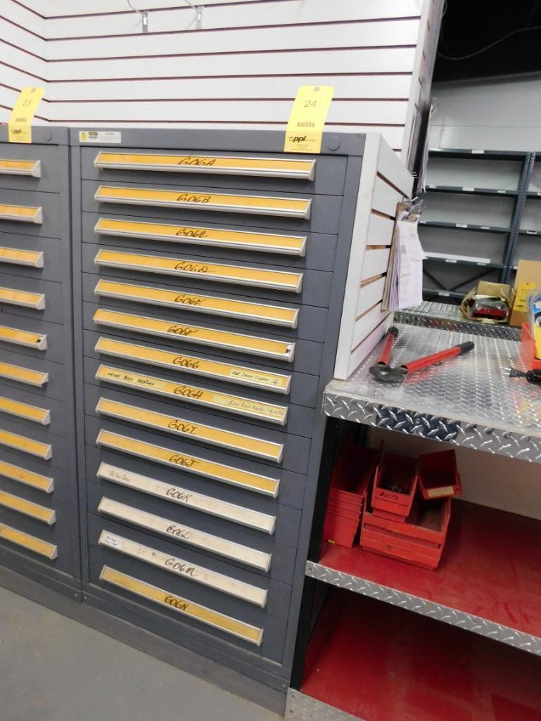 Vidmar 14-Drawer Tooling Cabinet