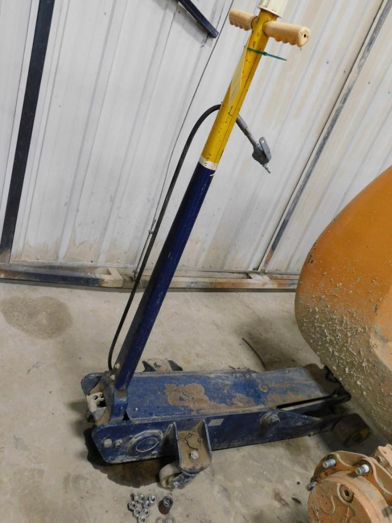 10 Ton Pneumatic Assist Floor Jack