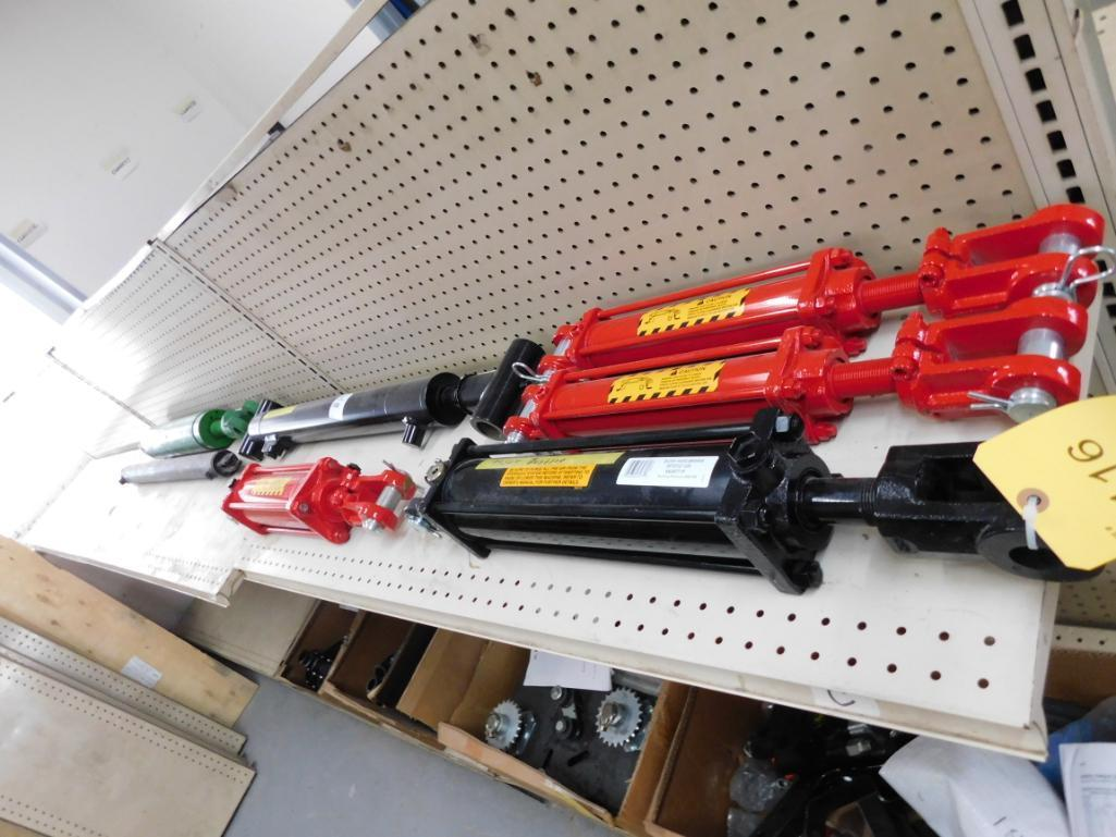 LOT: Assorted Hydraulic Cylinders