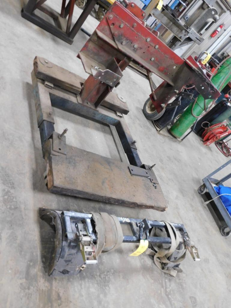 LOT: Equipment Stand & Wheel Lift Attachment