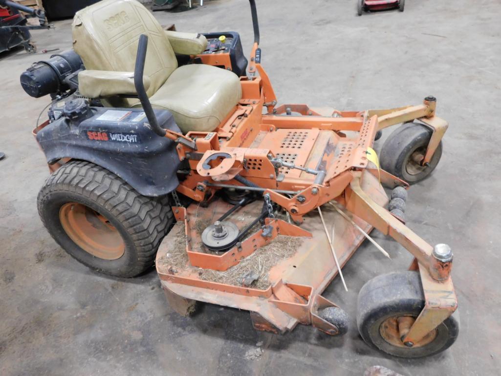 Scag Wildcat Zero Turn Lawn Mower, with 25 HP Kohler Motor - Image 2 of 2