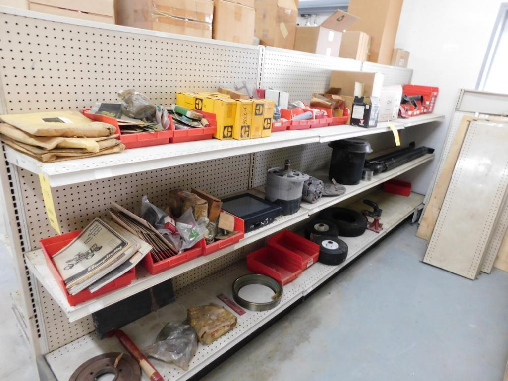 LOT: Small Engine & Assorted Equipment Parts