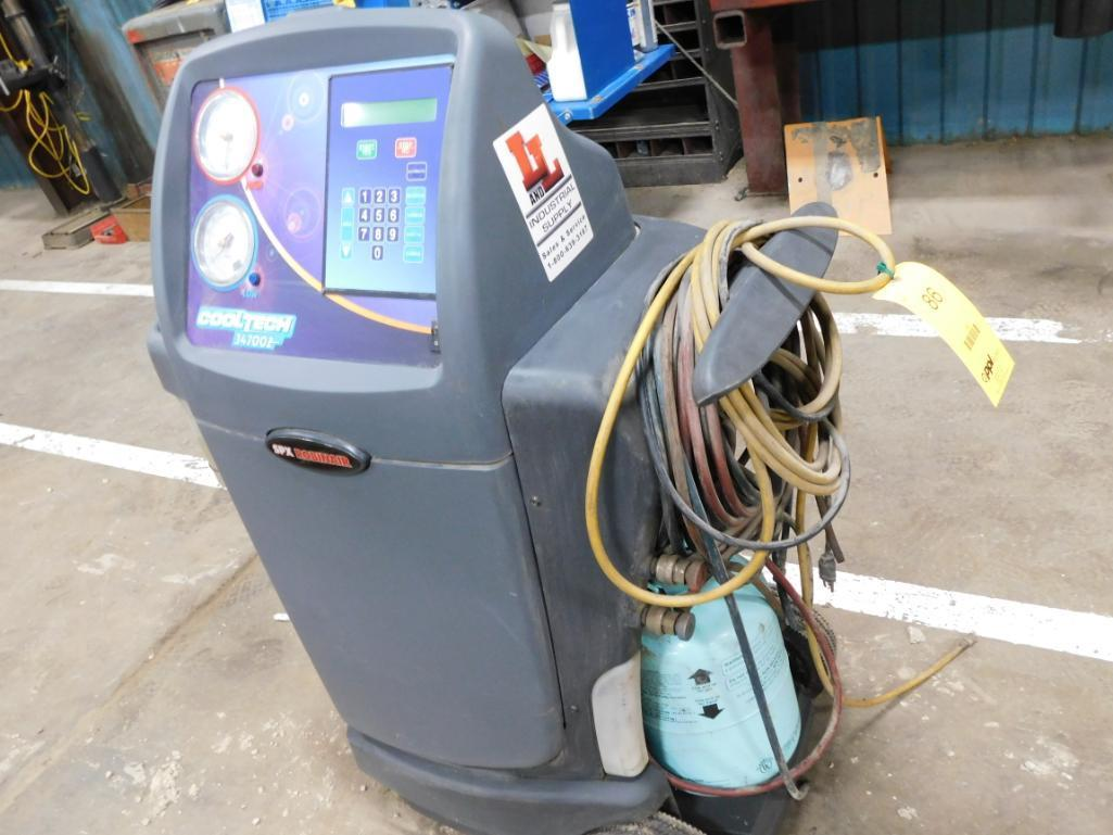 SPX Robinair Cooltech 34700Z Refrigerant Recovery, Recycling & Recharging Station